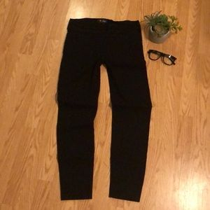Guess Black Stretch Ankle Pants